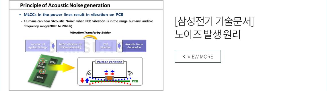 [삼성전기 기술문서] 노이즈 발생 원리 VIEW MORE