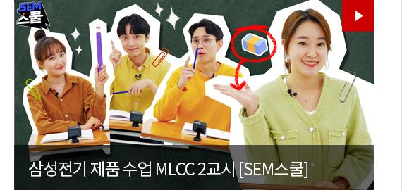 삼성전기 제품 수업 MLCC 2교시 [SEM스쿨]